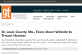St. Louis County, Mo., Takes Down Website to Thwart Hackers