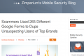 Scammers Used 265 Different Google Forms to Dupe Unsuspecting Users of Top Brands